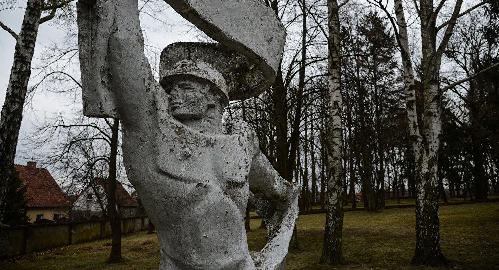 Pomnik na cmentarzu w Olsztynie