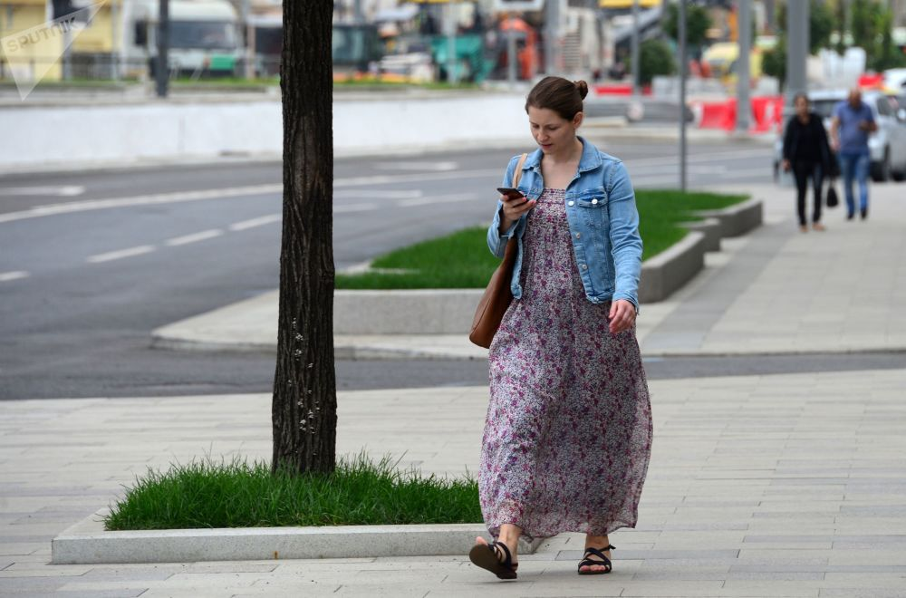 Ulica Korowij Wal w Moskwie