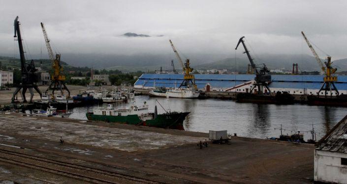 Północnokoreański port Rajin