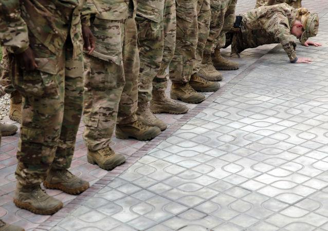 Amerykańscy wojskowi w Kabulu, Afganistan