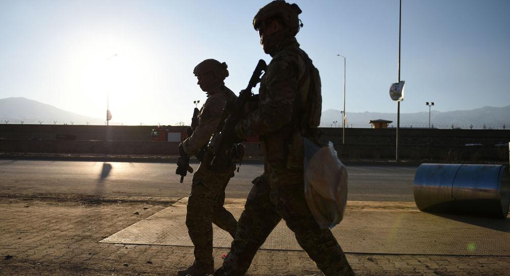 Amerykańscy żołnierze w Kabulu