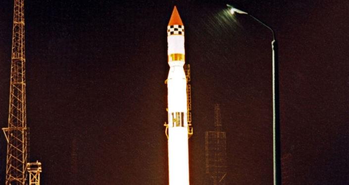 """Start rakiety nośnej """"Cyklon-3"""" na kosmodromie Plesieck"""