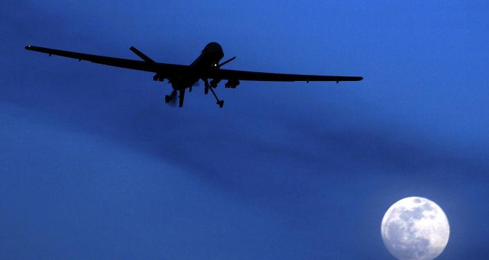 Amerykański dron. Zdjęcie archiwalne