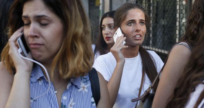 Barcelona po zamachu terrorystycznym