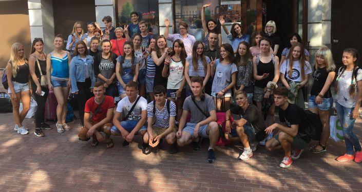 Ukraińscy uczniowie udają się do Moskwy i Petersburga w celu wzięcia udziału w programie oświatowym Rossotrudniczestwa Zdrawstwuj, Rossija!