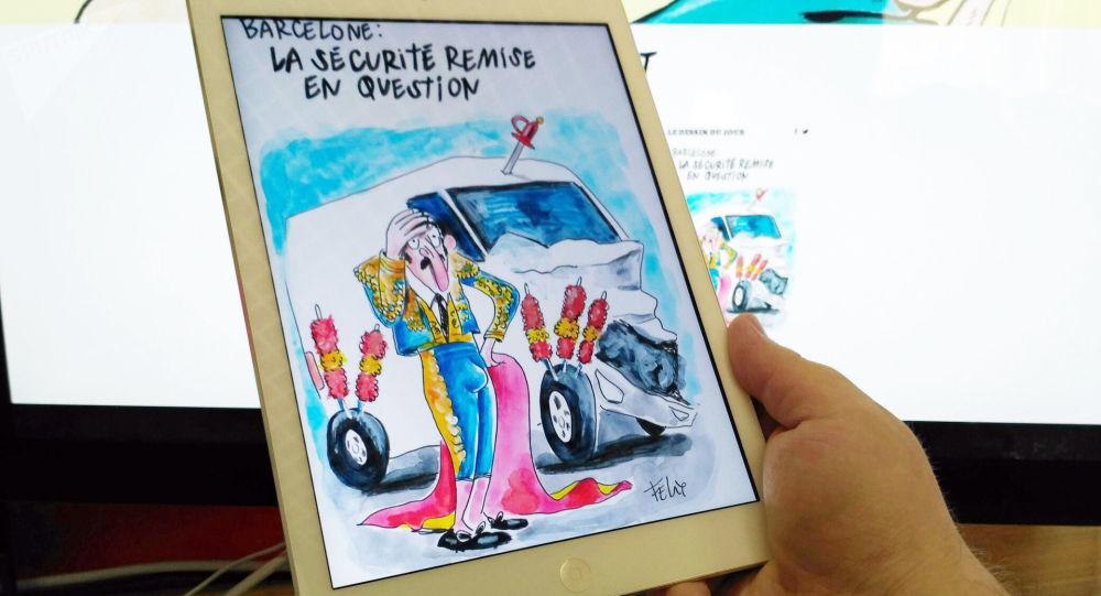 Karykatura w tygodniku Charlie Hebdo