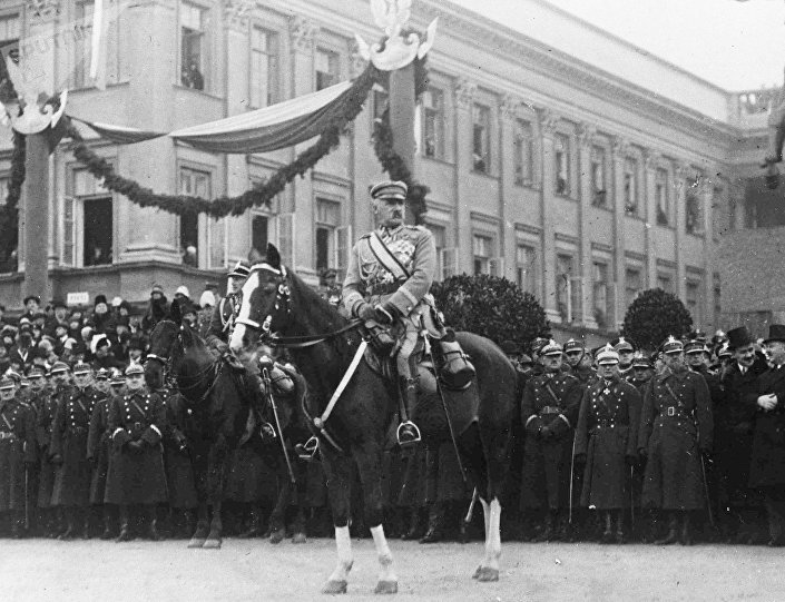 Józef Piłsudski, Naczelnik Państwa, 05.11.1927, Warszawa