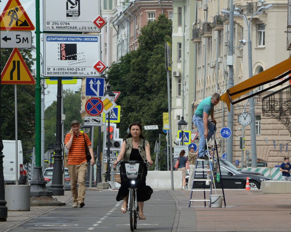 Ulica Bolszaja Nikitskaja w Moskwie