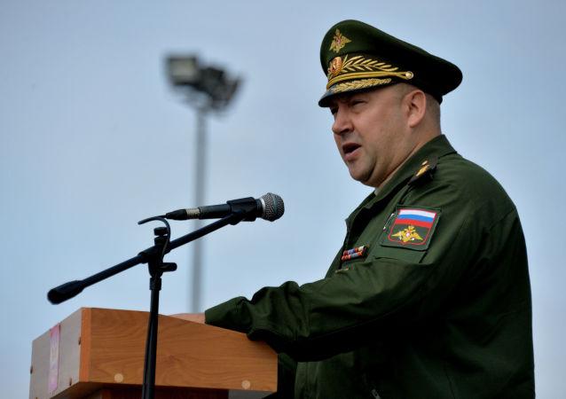 Dowódca zgrupowania Sił Zbrojnych Rosji w Syrii gen. pułk. Siergiej Surowikin