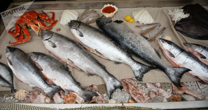 Rosyjskie ryby i owoce morza