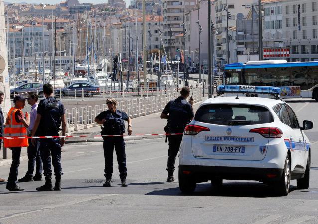Policja w Marsylii