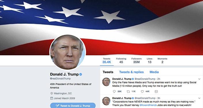 Twitter prezydenta USA Donalda Trumpa