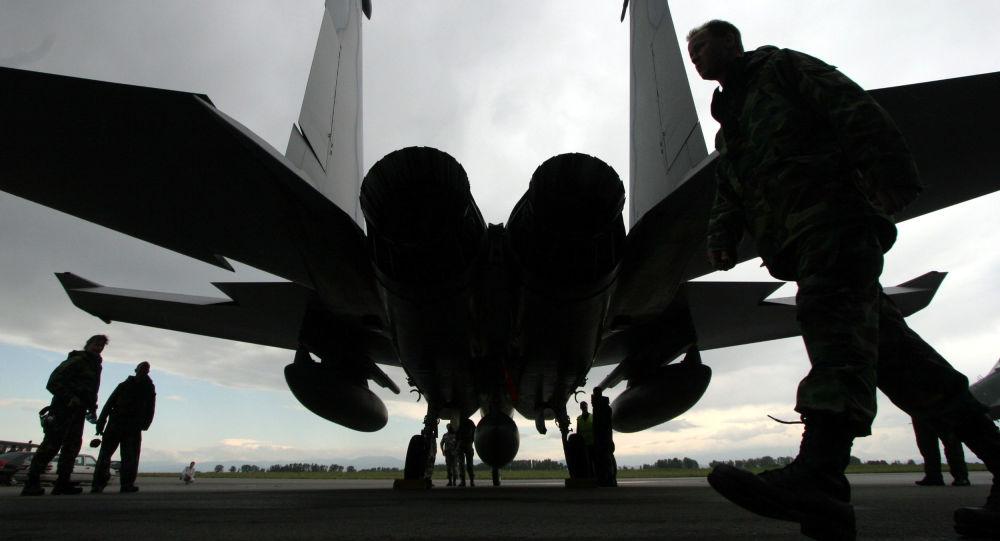 Amerykański myśliwiec F-15 Eagle