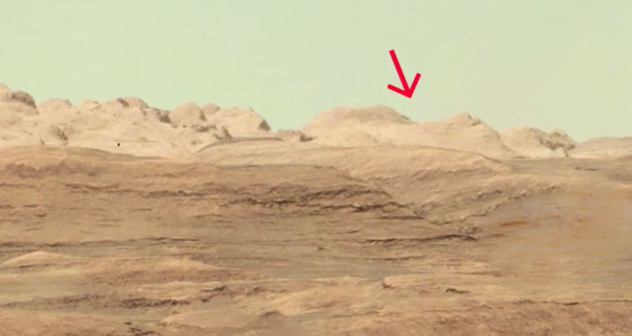 Starożytne miasto na Marsie