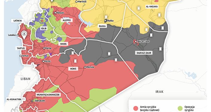 Ofensywa przeciwko ISIS w Syrii