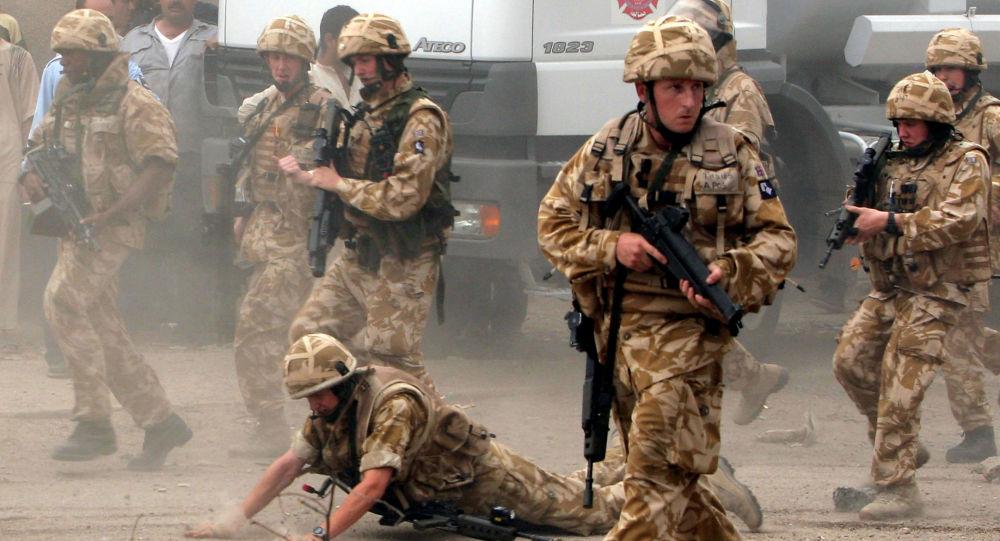 Brytyjskie wojsko w Iraku