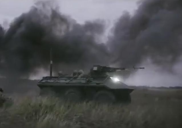 """Ukraina pokazała bezzałogowy miniaturowy pancernik """"Fantom"""""""
