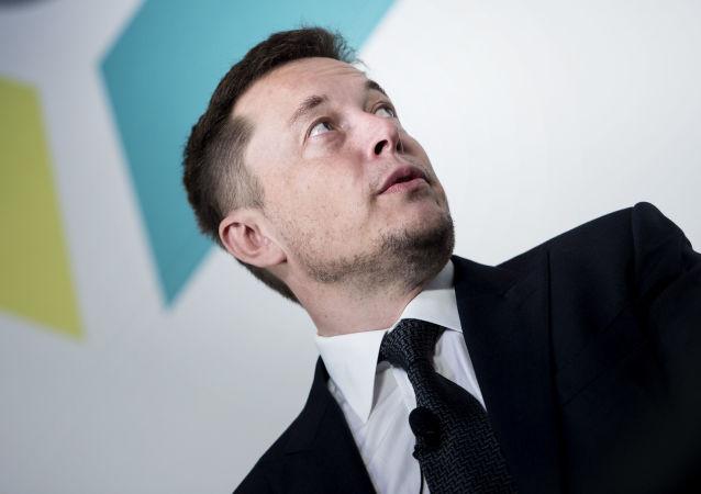 Założyciel i szef Tesla Inc  SpaceX Elon Musk w Waszyngtonie