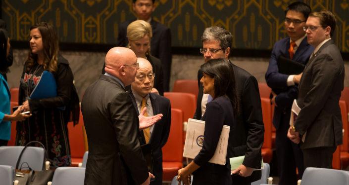 Stali przedstawiciele Rosji, Chin, Francji i USA na posiedzeniu Rady Bezpieczeństwa ONZ