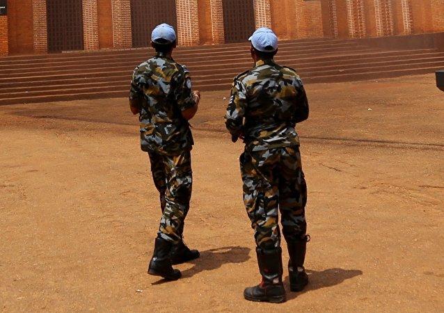 Żołnierze misji ONZ