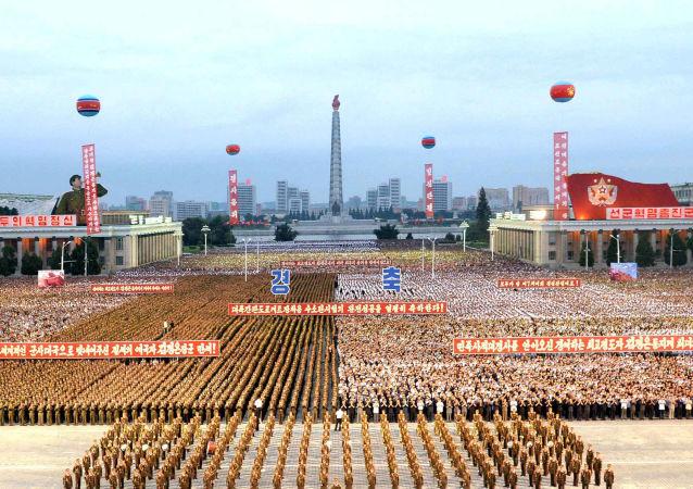 Mieszkańcy Pyongyangu świętują udany test bomby wodorowej w Korei Północnej