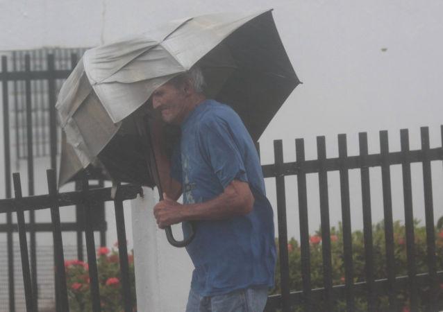 Huragan Irma w Puerto Rico