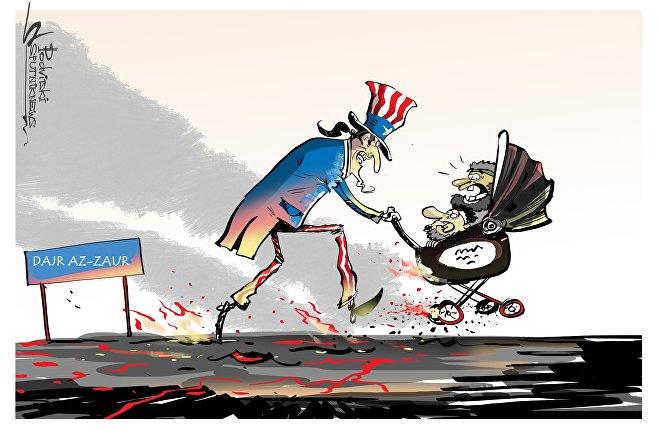 Amerykanie wywieźli z okolic Dajr az-Zaur dowódców PI
