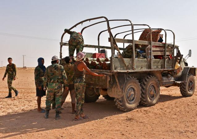 Trwa ofensywa armii syryjskiej w prowincji Dajr az-Zaur