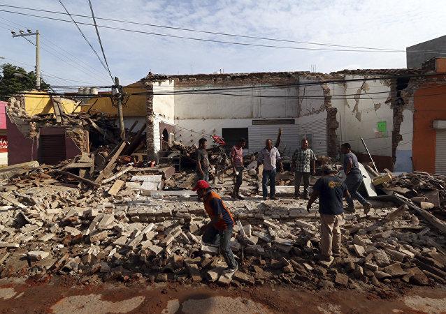 Potężne trzęsienie ziemi w Meksyku