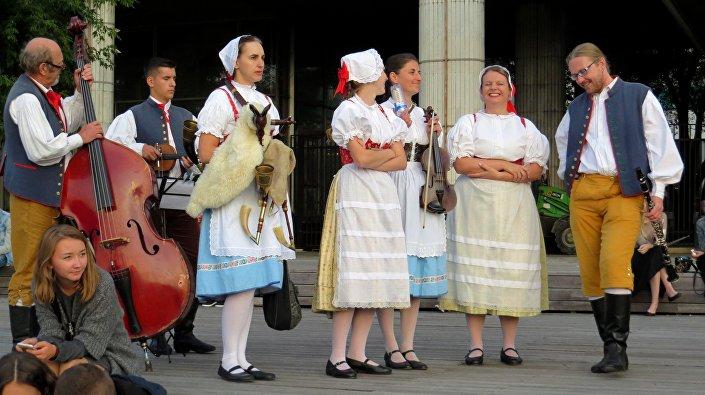 Czeski zespól muzyki ludowej