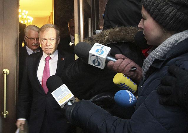 Ambasador Niemiec w Warszawie Rolf Nikel