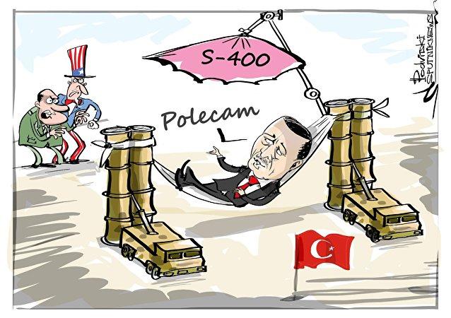 Kontrakt na S-400 rozzłościł USA