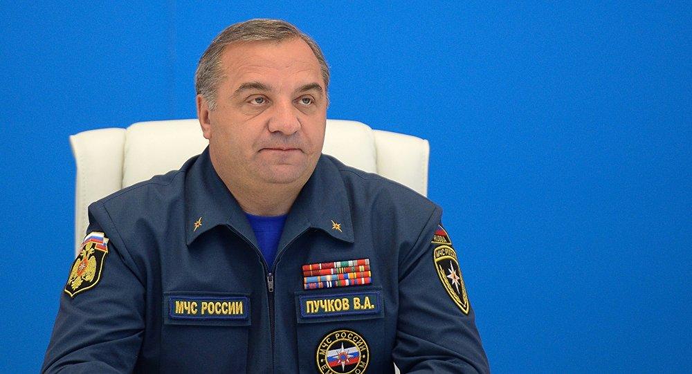 Rosyjski minister ds. sytuacji nadzwyczajnych  Władimir Puczkow