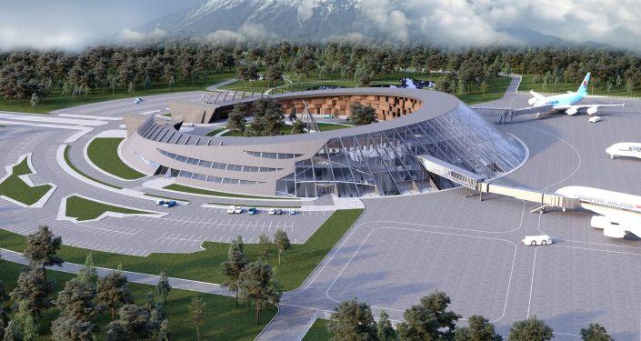 Lotnisko w Pietropawłowsku Kamczackim. Projekt