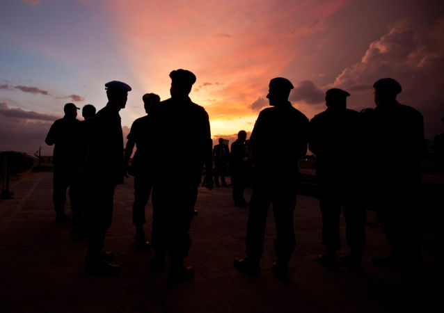 Żołnierze misji pokojowej ONZ