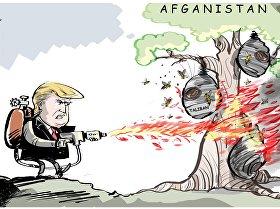 Wraz z dojściem Trumpa do władzy zwiększyła się ilość bombardowań w Afganistanie