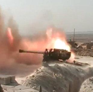 Syryjscy wojskowi opanowali miejscowość  al-Jafra