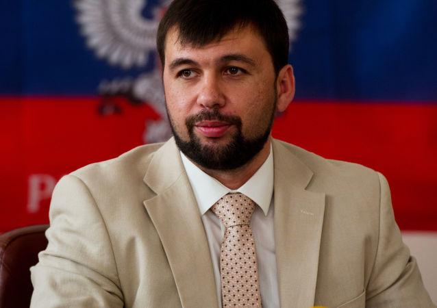 Pełnomocny przedstawiciel Donieckiej Republiki Ludowej na mińskich rozmowach Denis Puszylin