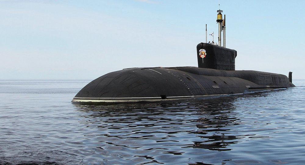Rosyjski okręt podwodny piątej generacji Władimir Monomach