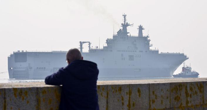 Śmigłowcowiec Sewastopol typu Mistral