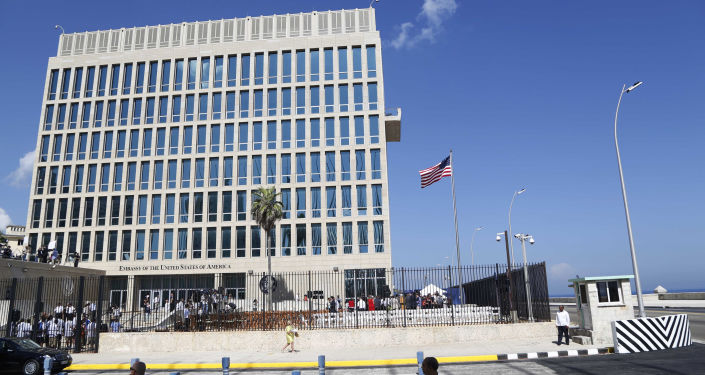 Budynek ambasady USA w Hawanie, Kuba