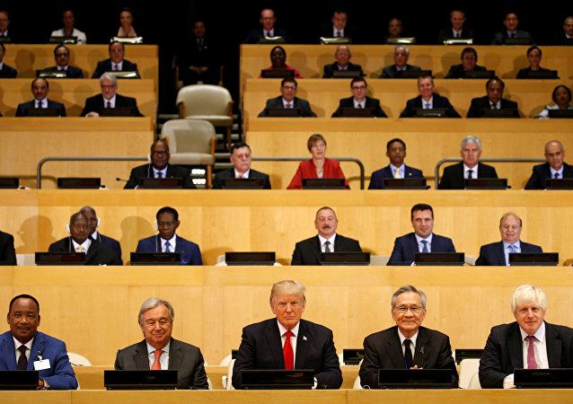 Donald Trump na sesji Zgromadzenia Ogólnego ONZ