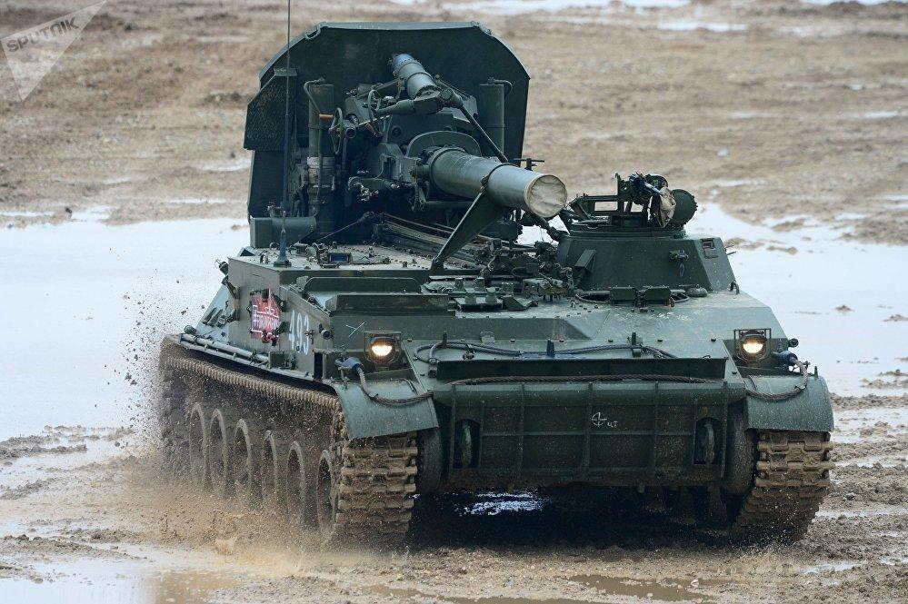 """Samobieżny moździerz 2S4 """"Tulipan"""""""
