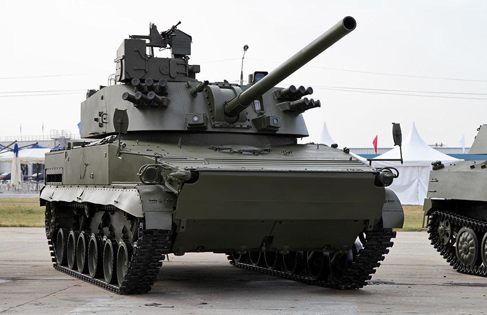 """Rosyjski 120-mm moździerz samobieżny 2S31 """"Wena"""""""