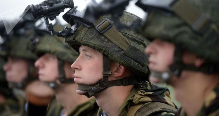 """Rosyjsko-białoruskie ćwiczenia wojskowe """"Zapad 2017"""" w obwodzie mińskim"""