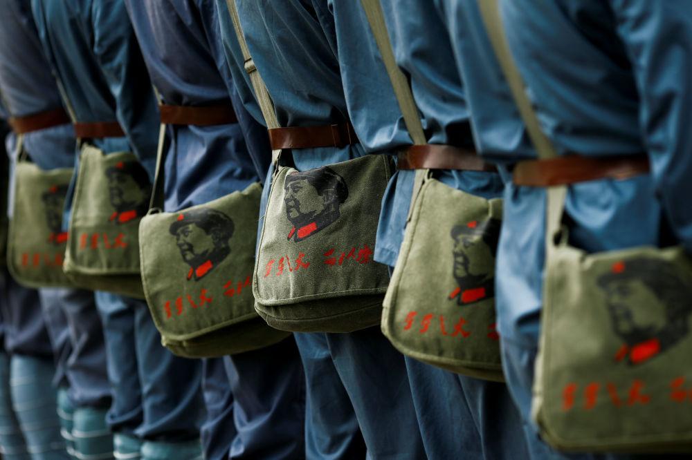 Rekonstrukcja Długiego Marszu Chińskiej Armii Czerwonej w prowincji Jiangxi