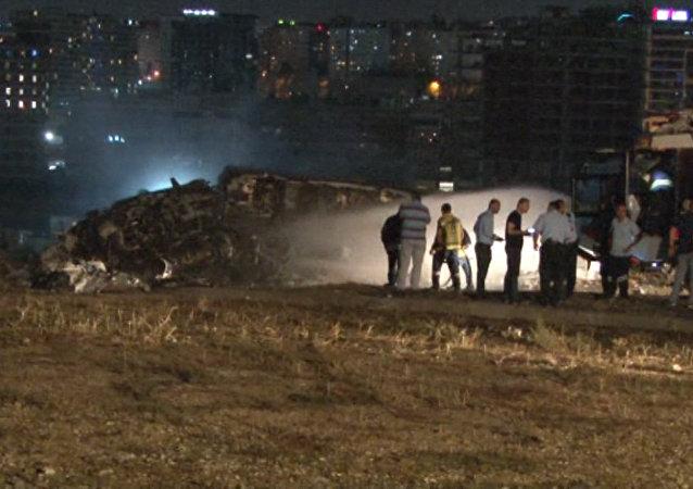 Katastrofa w Stambule