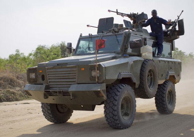 Południowosudańscy żołnierze