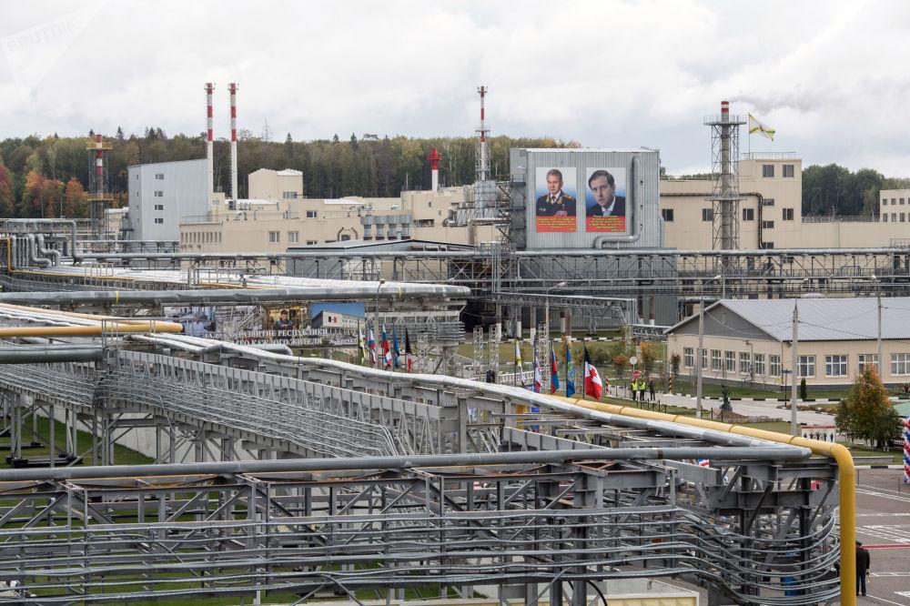 Kompleks uruchamiający utylizację broni chemicznej w ramach programu likwidacji ostatniej broni chemicznej w ośrodku Kizner w Udmurcji.