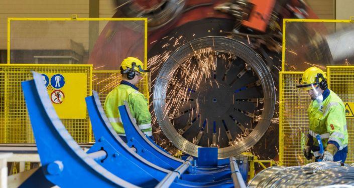 Proces produkcji Gazociągu Północnego-2
